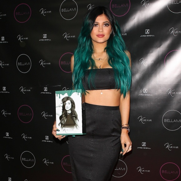 Bellami Accessories Kylie Jenner Teal Extensions Poshmark